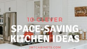 10 Clever Space Saving Ideas for your Kitchen