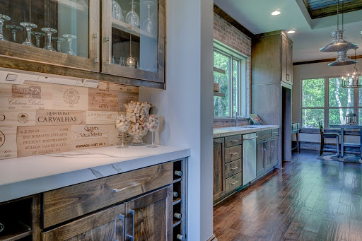 Cabinet doors with glass