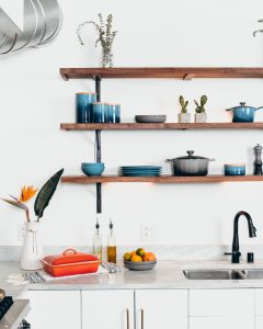 Cabinet Styles and Designs-open shelves