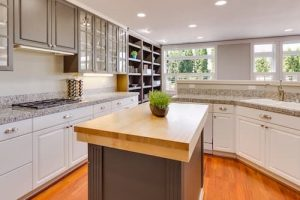 Save space by using a Kitchen Island