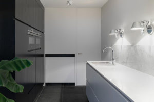Matte Black Cabinetry